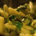 ズッキーニ・わけぎで、カザレッチェ・パスタを(ナイジェラさんのレシピ)