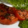 ローストトマトと、バジル・ソース
